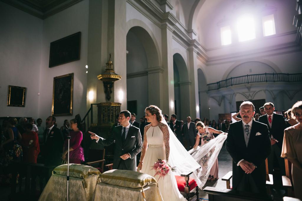 boda novios Carmen y Jose Enrique