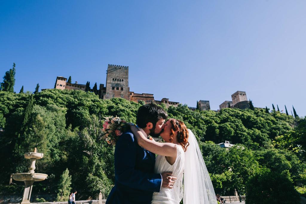 historia boda Alhambra