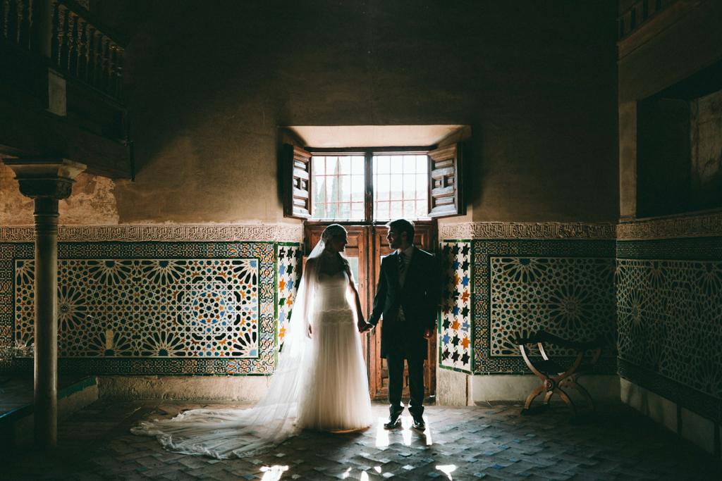 Postboda en la alhambra